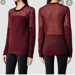 ❣️ALL SAINTS- sweater size 10